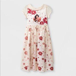 NEW Girls Elena of Avalor Fantasy Nightgown Dress
